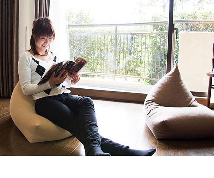 Những mẫu ghế lười hạt xốp cho nội thất căn hộ chung cư